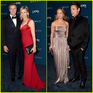 Robert Downey Jr. & Will Ferrell - LACMA Art & Film Gala 2013