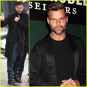 Ricky Martin: 'Santiago The Dreamer' Book Signing!