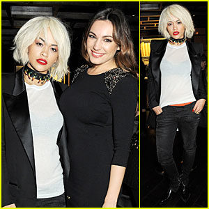 Rita Ora: Kyle De'volle Birthday Party with Kelly Brook!