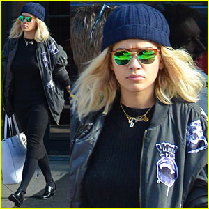 Rita Ora Thanks Recording Studio for Help with Second Album!