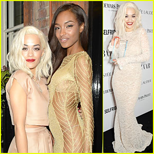 Rita Ora Wins Musician of the Year at Harper's Bazaar Women of the Year Awards 2013