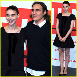 Rooney Mara & Joaquin Phoenix: 'Her' Rome Photo Call!