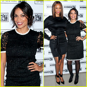 Rosario Dawson & Tyra Banks: Lower East Side Girls Club Gala