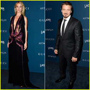 Rosie Huntington-Whiteley & Jeremy Renner - LACMA Art & Film Gala 2013