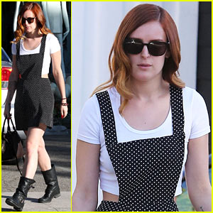 Rumer Willis' Mom Demi Moore Shows Support at Sayers Club!
