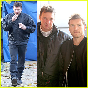 Sam Worthington: 'Kidnapping Freddy Heineken' Set with Willem Holleeder!