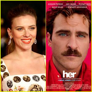 Scarlett Johansson Ineligible at Golden Globe Awards for 'Her'