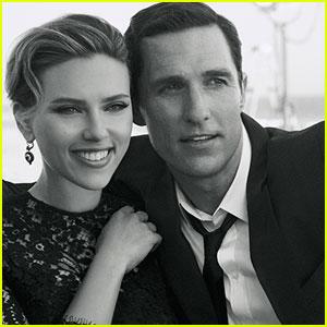 Scarlett Johansson & Matthew McConaughey: 'Dolce&Gabbana' Ad Video - Watch Now!
