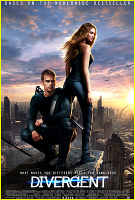 Shailene Woodley & Theo James: New 'Divergent' Poster!