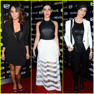 Shay Mitchell & Jessica Lowndes: Revolve Anniversary Party