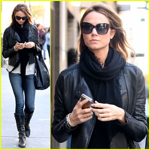 Stacy Keibler: Post ACE Awards Outing in NYC