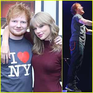 Taylor Swift: Ed Sheeran's Surprise Guest Performer!