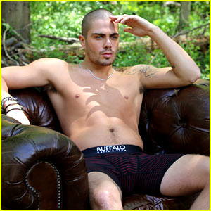 The Wanted's Max George Models Underwear for Buffalo