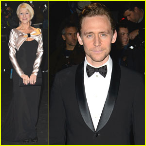 Tom Hiddleston & Helen Mirren: Evening Standard Theatre Awards 2013