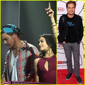 Vanessa Hudgens & Michael Shannon: YouTube Music Awards 2013 Performance