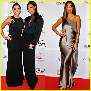 Victoria Beckham & Eva Longoria: Global Gift Gala 2013!
