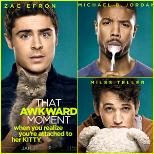 Zac Efron: 'That Awkward Moment' Character Posters!