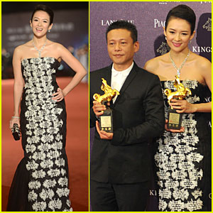 Ziyi Zhang Wins Best Actress at Golden Horse Film Awards!