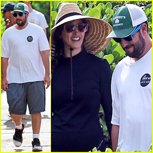 Adam Sandler & Wife Jackie Spend Quality Time in Hawaii!