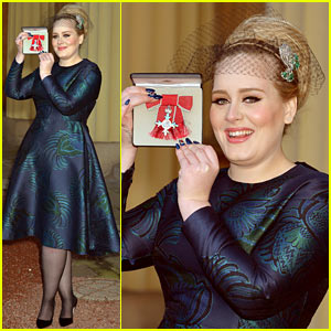 Adele Receives Royal British Honor for Services to Music!