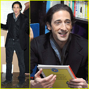 Adrien Brody: Action Center's Post-Sandy Holiday Party!