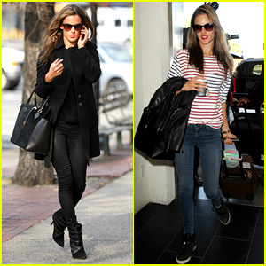 Alessandra Ambrosio Steps Out in New York After Thanksgiving
