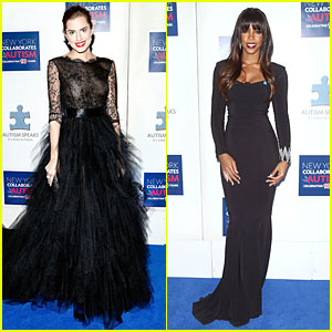 Allison Williams & Kelly Rowland: Winter Ball for Autism!