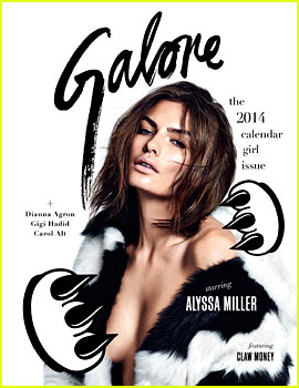 Alyssa Miller Flaunts Her Assets for 'Galore' (Exclusive)