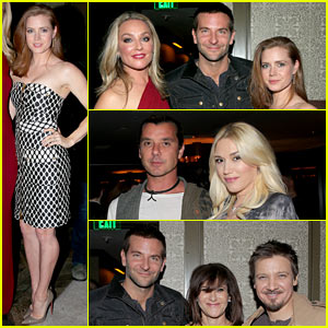Bradley Cooper & Amy Adams Mingle at 'American Hustle' Event!