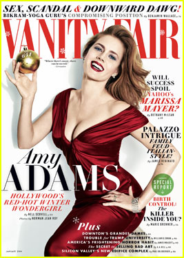 Captivating Amy Adams Covers U0027Vanity Fairu0027 Magazine Janaury 2014