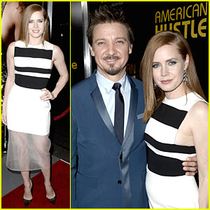 Amy Adams & Jeremy Renner: 'American Hustle' DGA Screening!