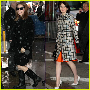 Amy Adams & Michelle Dockery: Separate Promo Work on 'GMA'!