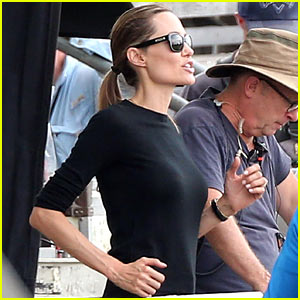 Angelina Jolie: Back to Work on 'Unbroken' After Family Weekend!