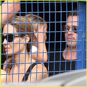 Angelina Jolie & Brad Pitt: Matinee Movie with the Kids!