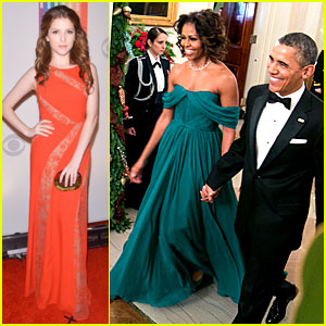 Anna Kendrick: Kennedy Center Honors Gala with the Obamas!