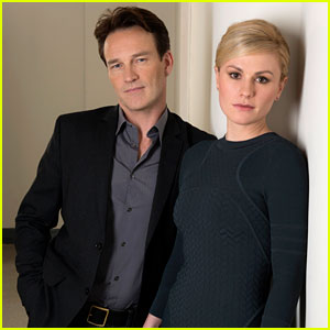 Anna Paquin & Stephen Moyer: 'Free Ride' NYC Photo Call!