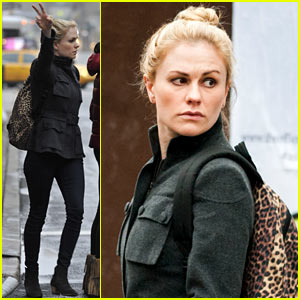 Anna Paquin Steps Out Before Stephen Moyer's 'Sound of Music' Live Airing!