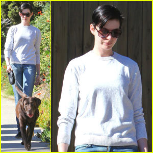 Anne Hathaway: One of Just Jared's Most Popular Actresses!