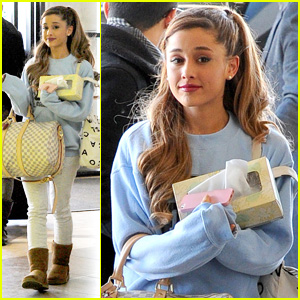 Ariana Grande: 'Santa Baby' Full Song with Liz Gillies!