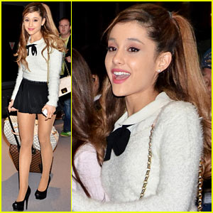 Ariana Grande Touches Down in Tokyo for New Year's Eve!