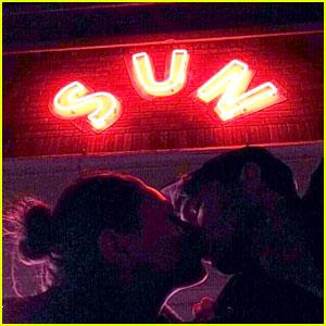 Ashton Kutcher Kisses Mila Kunis in New Instagram Pic!