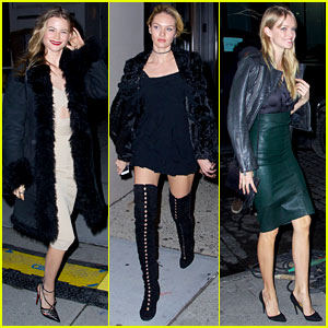 Behati Prinsloo & Candice Swanepoel: VS Show Viewing Party!