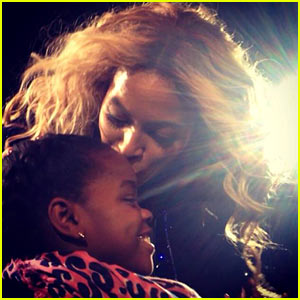 Beyonce Kisses Madonna's Daughter at Concert, Announces New Fragrance