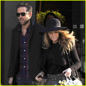 Blake Lively & Ryan Reynolds Stock Up for the Holidays!