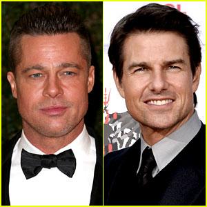 Brad Pitt Joining Tom Cruise in 'Go Like Hell' Racing Movie?