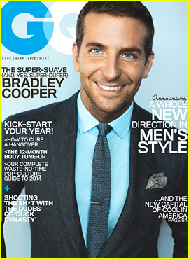 Bradley Cooper Covers 'GQ' January 2014