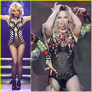 Britney Spears: 'Piece of Me' Vegas Show Photos & Video!