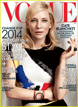 Cate Blanchett Covers 'Vogue' January 2014