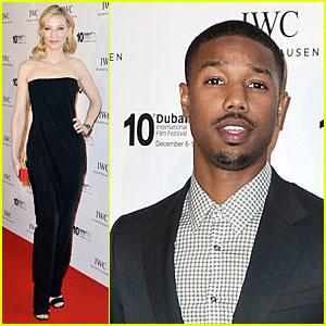 Cate Blanchett & Michael B. Jordan: IWC Filmmakers Award!