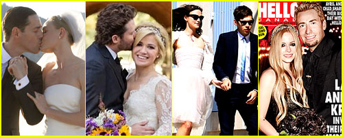 Just Jared's Celebrity Wedding Recap 2013